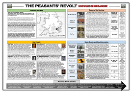 Peasants' Revolt Knowledge Organiser/ Revision Mat!