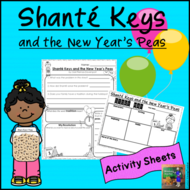 Shante Keys and the New Year's Peas Activity Sheets *Print and Go!*