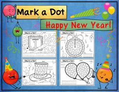 Happy New Year! Dot Dauber Set