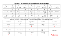 Changing-The-Subject-Of-A-Formula-Codebreaker---Answers.docx