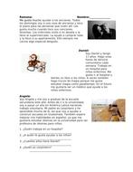 Spanish Reading on Volunteer Work: Trabajo Voluntario Lectura