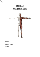 BTEC Sport Level 3 Mock Exam Unit 1 Anatomy and Physiology