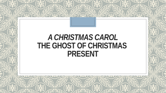 A Christmas Carol Stave 3 | Teaching Resources