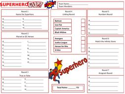 Superhero-Answers-Sheet.pptx