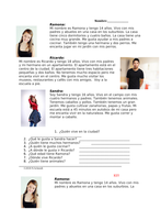 Donde yo vivo Lectura: Spanish Easy Reading: Where I live: Suburbs, City, Farm