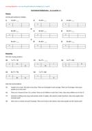 Grid Multiplication - Mastery Questions (3x, 4x & 8x)