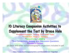 Clark the Shark Tooth Trouble Companion Literacy Activities to Supplement Text