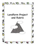 Map Skills - Landform Project