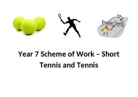 Tennis and Short Tennis Scheme of Work - Year 7