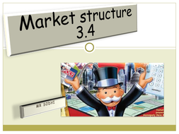 Market structures and competition