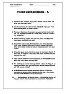 year-5-and-6-word-problems-stepped-activity.doc
