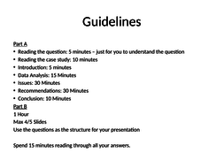 Gudelines for unit 6 by kurd61 | Teaching Resources