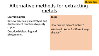 AQA-C14.4-Extracting-Metals-from-Ores.pptx