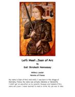 Joan of Arc: Military Leader/ Heroine of France