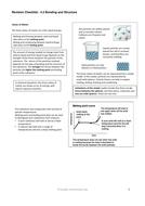 Aqa GCSE unit 1-2 Chemistry bonding cliff notes