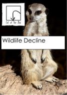 Wildlife Decline. Information and Worksheet
