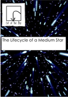 Lifecycle of a Medium Star. Information and Worksheet