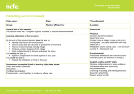 Protecting-our-Environment-Session-Plan.doc