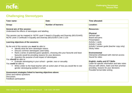 Challenging-Stereotypes-Session-plan.doc