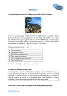 KS3-4-French---Holidays.docx