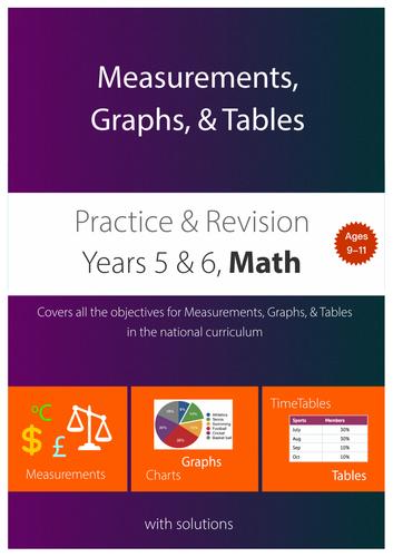 Measurements, Graphs & Tables (upper KS2)