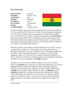 Evo Morales Biografía: Spanish Biography on the President of Bolivia