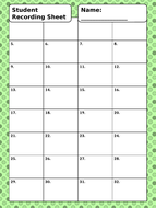 Student-Recording-Sheet-and-Answer-Key.pptx