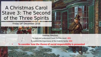 A Christmas Carol Stave 3 (Part 2) REVISION | Teaching Resources
