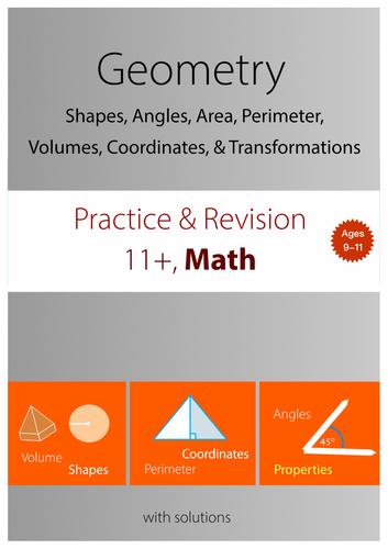 11+ Math Practice : Geometry