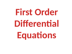 Further-Core-2-First-Order-Differential-Equations.pptx
