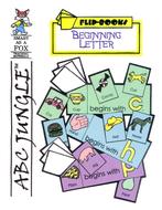 Beginning Letters Flip Booklets