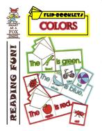 Colors Flip Booklets