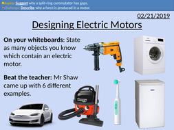 GCSE Physics: Motor Construction