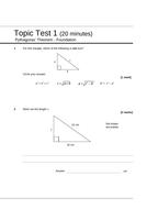 Pythagoras'-Theorem---Topic-test-1-F-v1.1.doc