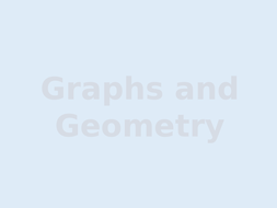 Graphs and Geometry