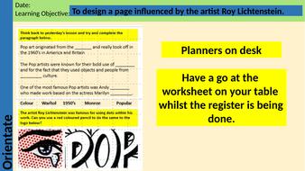 Lesson-2-and-3---Lichtenstein-Critical-Study-Page.pptx