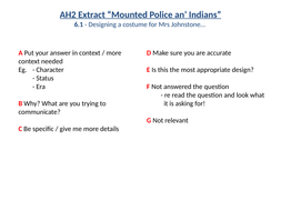 GCSE-PPE---Mounted-Police-an'-Indians---Marking-Codes.pptx