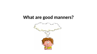 Good Manners Primary Age