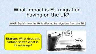EU Migration 1 - The Refugee Crisis