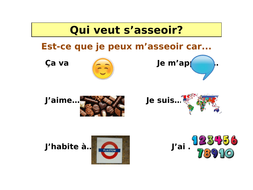 French Classroom Verbs and Adjectives to Describe Personality