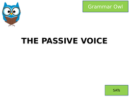 THE PASSIVE FOR SATS