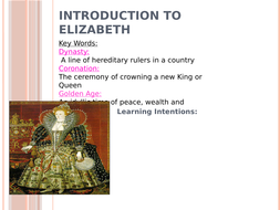 Edexcel Elizabeth - Introduction to Elizabeth