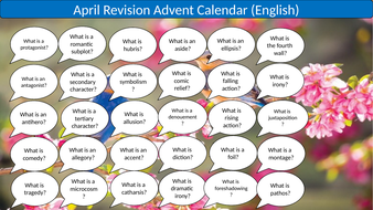 A Question A Day... April (English revision)