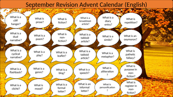 A Question A Day... September (English revision)