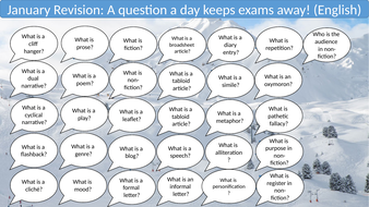 A Question a day... English version (academic year)