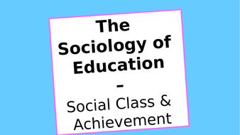 (2)-Social-Class---Achievement.pptx