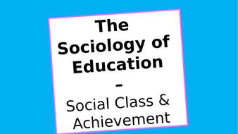 (3)-Social-Class---Achievement---Material-Deprivation.pptx