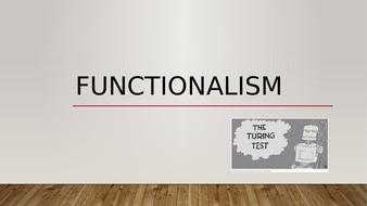 Functionalism, AQA Philosophy, Metaphysics of Mind