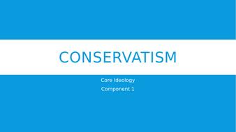 Conservatism - An Overview