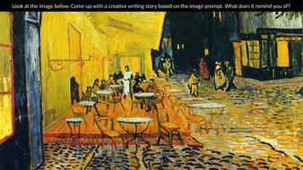 Creative Writing Prompts (Famous Paintings) 40+ by